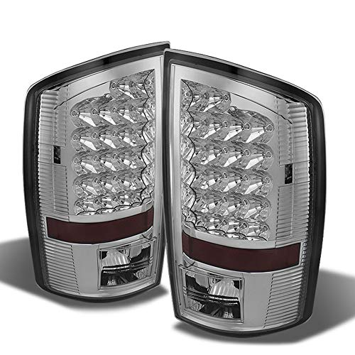 ACANII - For 2002-2006 Dodge Ram 1500 2500 3500 LED Tail Lights Lamps Left+Right Aftermarket