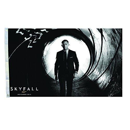 Banner Bond (007 Spectre James Bond Sky Fall Wall Flag Banner Movie Fan 3-by-5 Foot)
