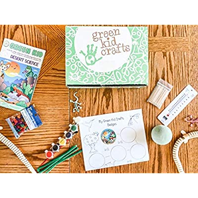 GreenKidCrafts Desert Science Discovery Box: Toys & Games
