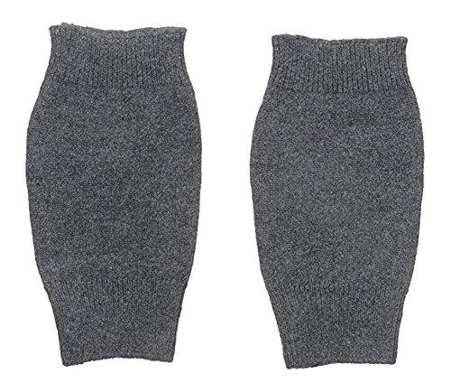 Hole Grigio Fingerless Cashmere Gloves Inch Achlin Woman xwXqzwA0