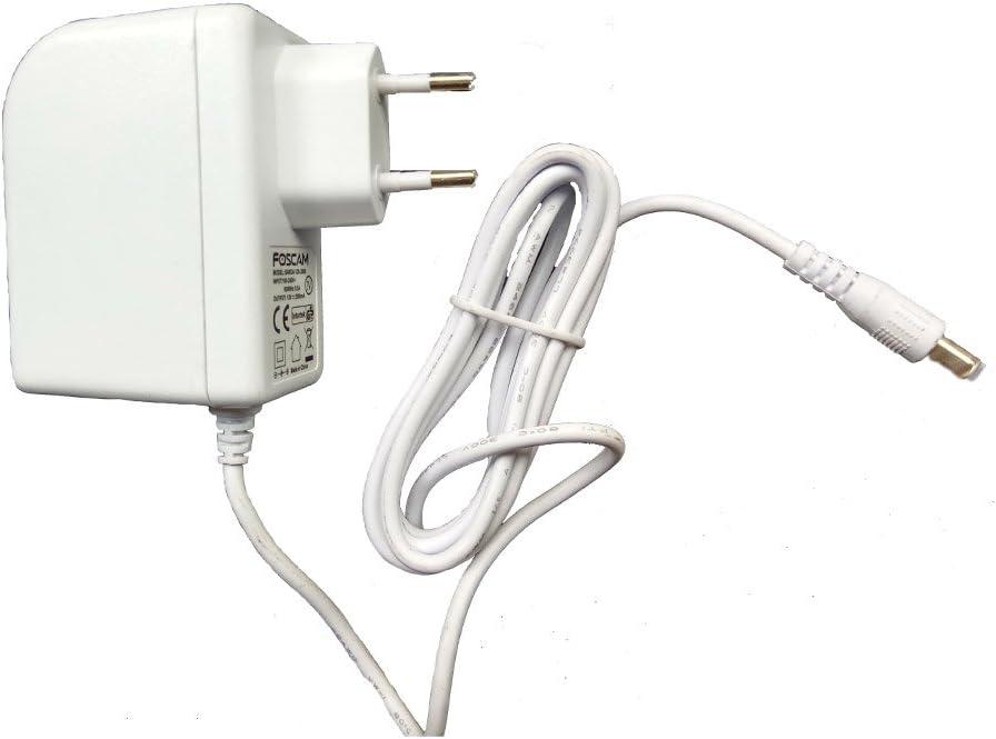 Foscam Saw12 F 050 2000g 5 V 2 A Eu Plug Usb Wall Charger For Indoor Ip Camera Black Baumarkt