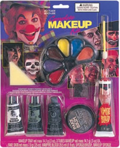 Zipper Halloween Makeup Look (Complete Makeup Kit)