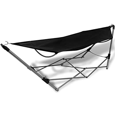 BLXCOMUS Outdoor Hiking Folding Hammock Bed