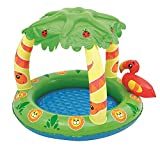Bestway Friendly Jungle Inflatable Play Paddling Pool For Kids & Babies Summer Garden Swimming Blow Up