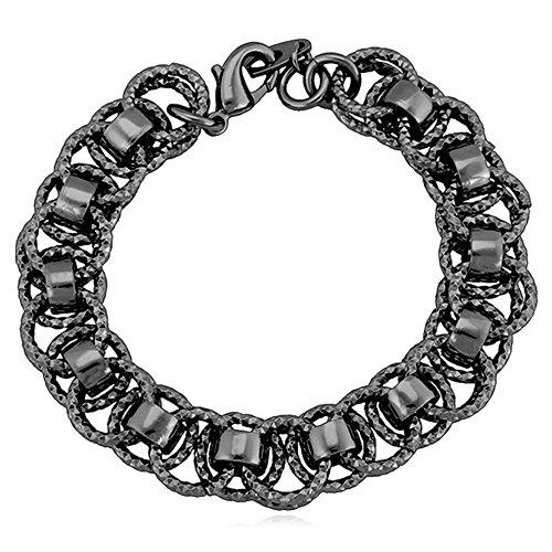 U7 Women Unique Plated Bracelet