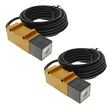 BeMatik - Sensor interruptor célula fotoeléctrica NPN NO+NC 10-30VDC 5m barrera: Amazon.es: Electrónica