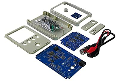JYE Tech DSO Shell (15001K) Standard DIY Kit, BNC-clip cable included Oscilloscope (Latest firmware)