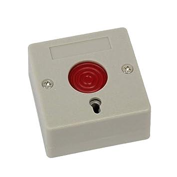 BeMatik - Pulsador de Emergencia por Cable y con Sistema de ...