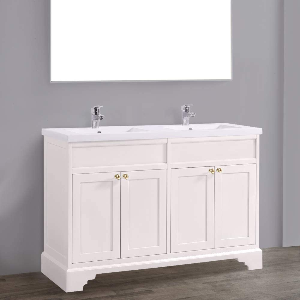 NRG 10mm Ivory Traditional Floor Standing Bathroom Furniture