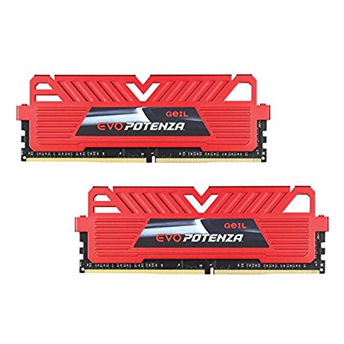 - GeIL EVO Potenza 16GB (2 x 8GB) 288-Pin DDR4 SDRAM DDR4 3000 (PC4 24000) Desktop Memory Model GPR416GB3000C15ADC