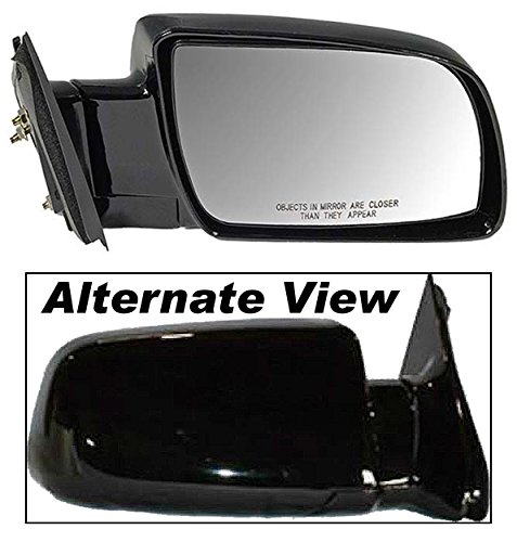 APDTY 066216 Side View Mirror Assembly Manual Adjust Glass Fits Right Passenger-Side 1992-1994 Chevy Blazer 1988-1999 C or K 1500 2500 Series Pickup 1995-2000 Chevrolet Tahoe 1992-2000 GMC Yukon