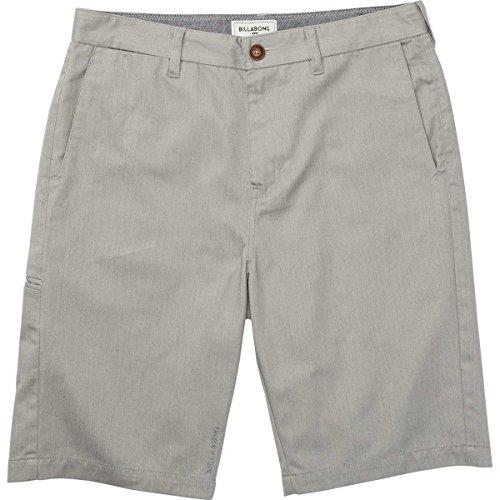 Billabong Men's Carter Shorts, Grey Heather Carter, 28