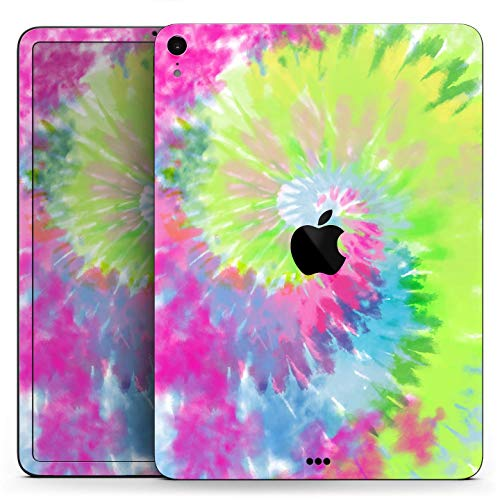 Spiral Tie Dye V7 - Full Body Skin Decal for The Apple iPad Mini 4 (A1538/A1550)