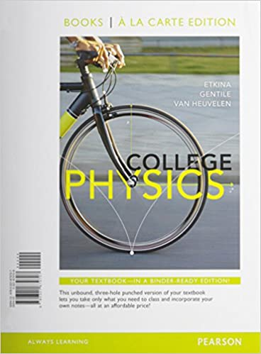 Amazon com: College Physics, Books a la Carte Edition