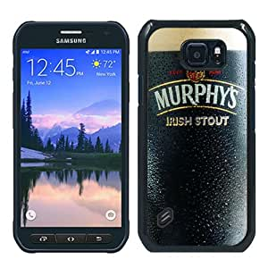Recommended Design Samsung Galaxy S6 Active Case,murphy's stout Black Samsung Galaxy S6 Active Customized Case