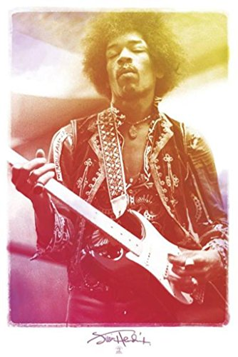 Pyramid America Jimi Hendrix Legendary Poster Print -