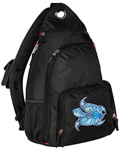 Sea Turtle Backpack Single Strap Turtle Sling Backpack