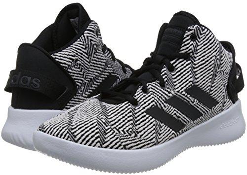 Homme Adidas negbas Mid 000 Pour Carbon Baskets Montantes Cloudfoam Ftwbla Noir Refresh 50pZq