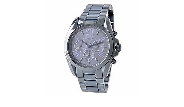 ad454b68594e Amazon.com  Michael Kors Oversized Bradshaw Blue Dial Stainless Steel Men s  Watch MK 6248  Watches