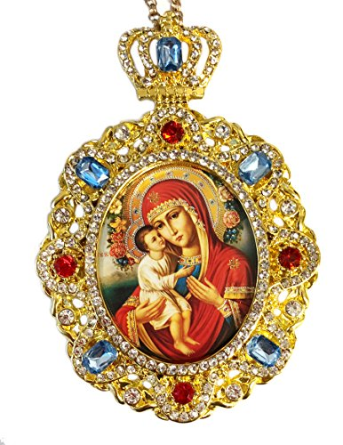 Virgin Mary Jesus Icon - 7