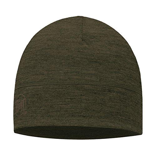 BUFF Lightweight Merino Wool Hat, Forest Night, One Size