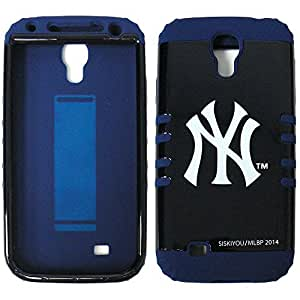 For Samsung Galaxy S4 S Iv I9500 New York Yankees Rmlb Hybrid Cover Rubber Skin And Hard Case