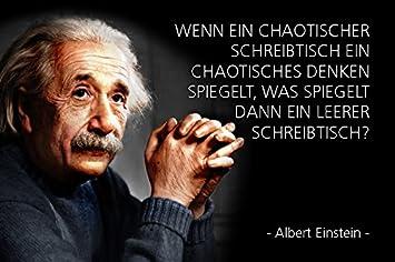 albert einstein sprüche ComCard Albert Einstein   wenn EIN chaotischer Schreibtisch EIN  albert einstein sprüche
