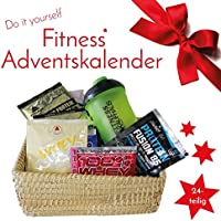 Fitnesskaufhaus Do It Yourself Samples Fitness Adventskalender 2018, 24 TLG Protein Shaker