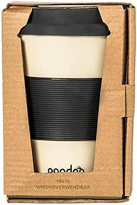 pandoo café de bambú taza de café - Taza de café, taza de beber ...