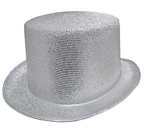 Glitter Top Hat (Silver)]()