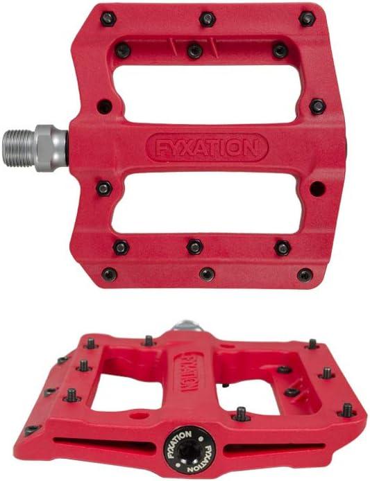 Red Cycle Products Flat Pédale AL rouge 2019 Pédales