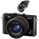 Sony Cyber-Shot DSC-RX1R II Full Frame Digital Camera - With Sony ECM-XYST1M Stereo Microphone