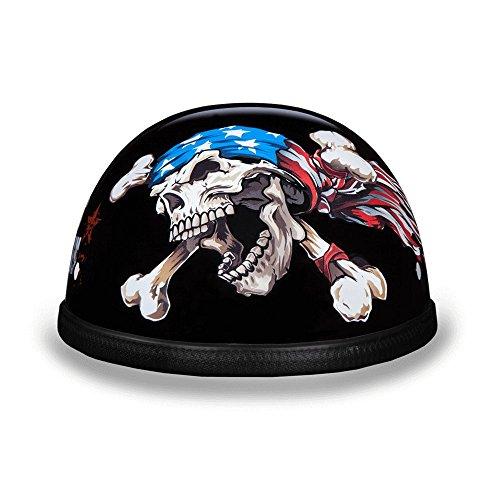 Eagle with Patriot Motorcycle Helmet