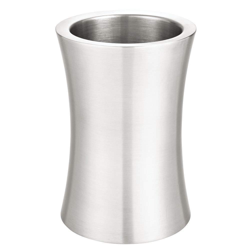 Amazon.com: mDesign - Cubo para botellas de vino (metal ...