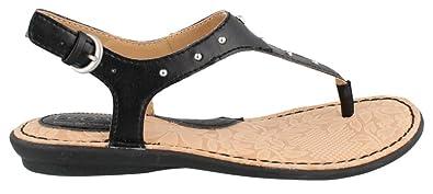c097560ea207d B.O.C. Women Candia Black Flat Sandal 6