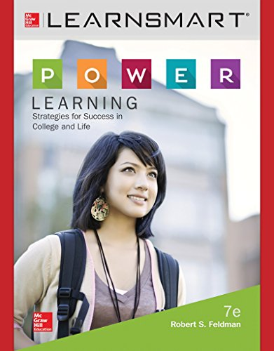 LearnSmart Access Card for P.O.W.E.R. Learning: Strategies for Success in College and Life