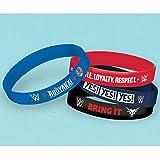 American Greetings WWE Rubber Bracelets (6 Count)