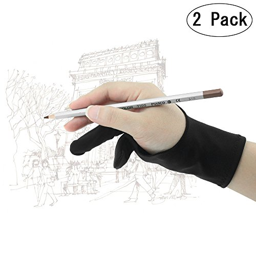 left-handed-artist-glove-2-piece-yoosion-finger-anti-fouling-glove-lycra-drawing-glove-two-finger-ar