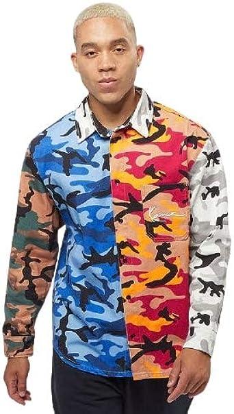 Karl Kani Small Signature Block - Camiseta de camuflaje ...