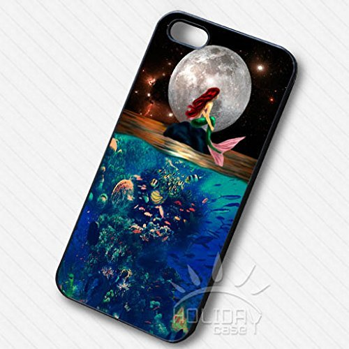 Ariel With Full Moon Night pour Coque Iphone 7 Case S2P8IS