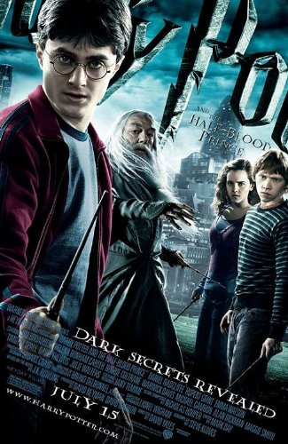 HARRY POTTER HALF BLOOD PRINCE 11.5x17 INCH PROMO MOVIE POSTER