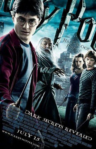 HARRY POTTER HALF BLOOD PRINCE 11.5x17 INCH PROMO MOVIE (Harry Potter And The Half Blood Prince Poster)