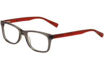 803dc68e11 Amazon.com  Eyeglasses NIKE 5538 070 ANTHRACITE RED  Sports   Outdoors