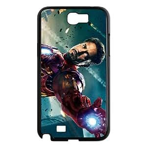 Iron Man Samsung Galaxy N2 7100 Cell Phone Case Black Eoovq