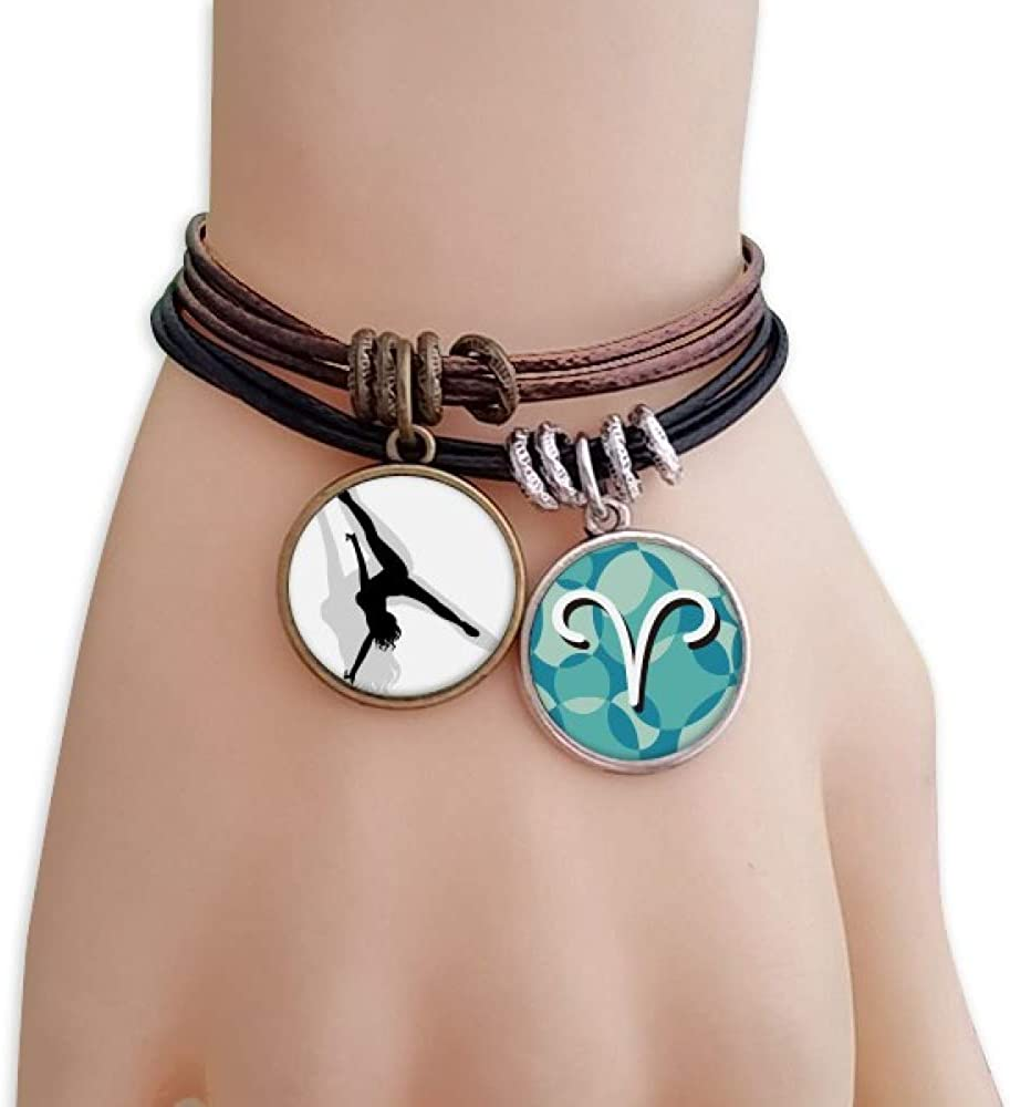 cold master DIY lab Hot Woman Handstand Dance Bracelet Rope Aries Wristband