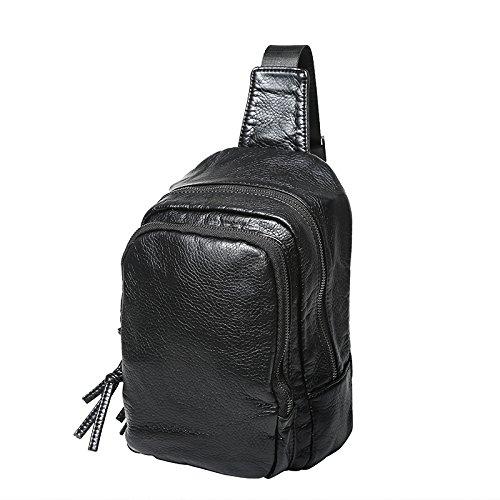 Herren Freizeit Reisen Brust Pack Messenger Tasche