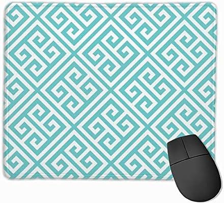 Alfombrilla de ratón con diseño de Llave Griega Turquesa para ...