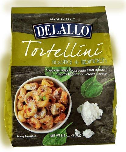 - Delallo Tortellini Ricotta and Spinach -- 8.8 oz - 2 pc