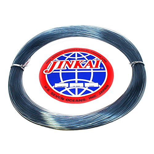 Jinkai Premium Monofilement Leader – 100yd Coil – 50lb-600lb – Smoke Blue
