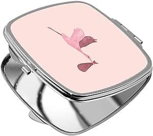مرآة جيب، شكل مربع،  بتصميم اوزة